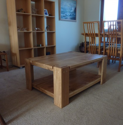 Oak & Sycamore Coffee Table