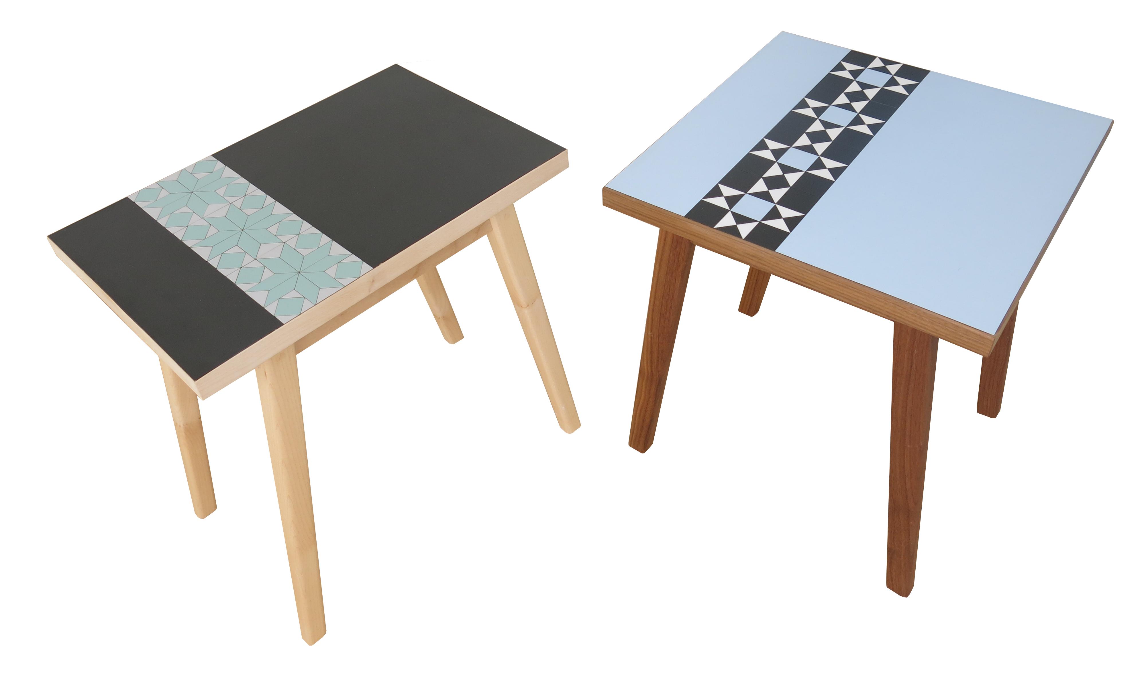 Formica side tables susan harper furniture for Furniture companies