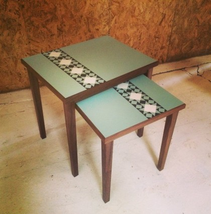 Formica Side Tables